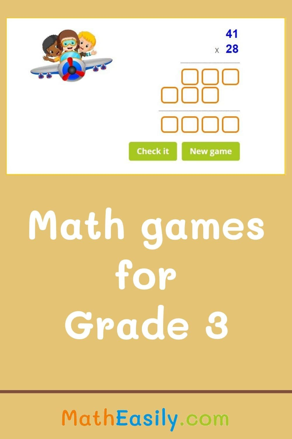 Free math games for third grade